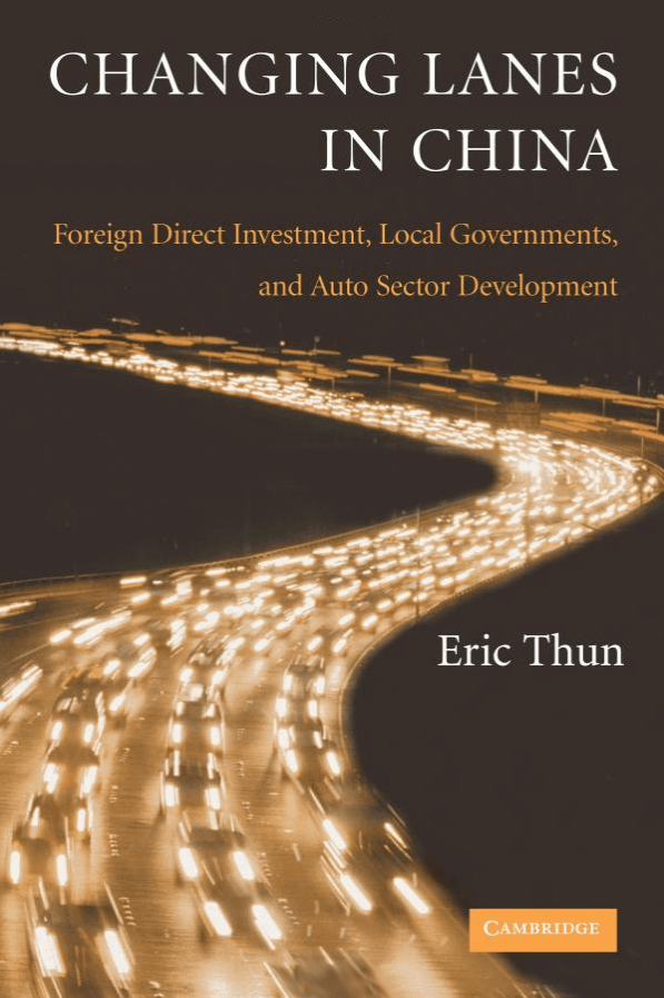 Changing Lanes in China