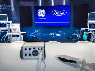 Ford and ventilators